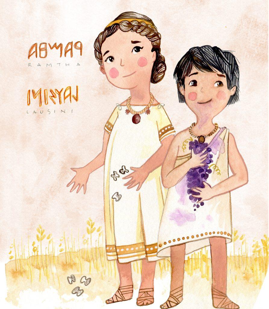 Meet Lausani & Ramtha