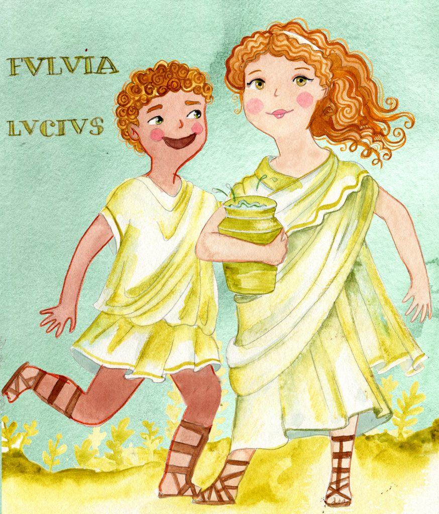 Roman activities for kids