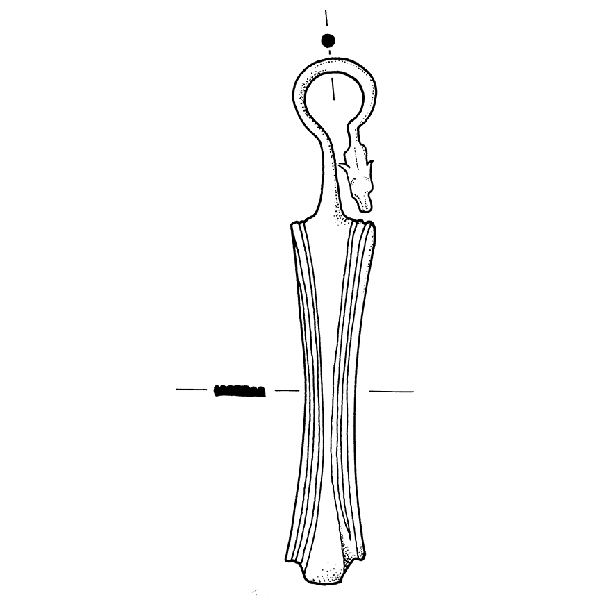 E2 2. Strainer handle drawing2