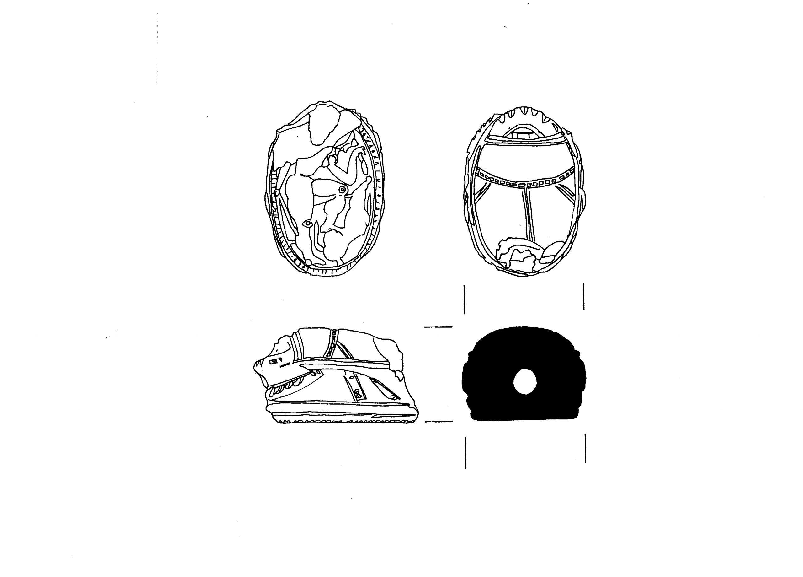 E8 3. Cornelian Gemstone C-93-71