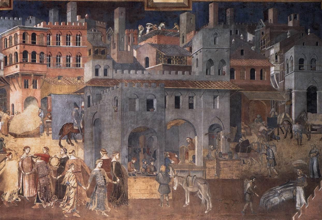 M8, 2 Ambrogio Lorenzetti
